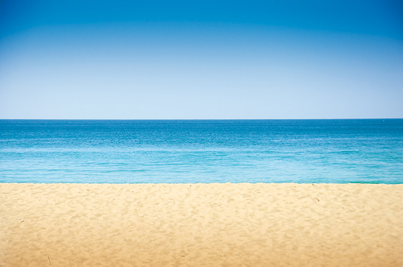 Paysage Carnon plage